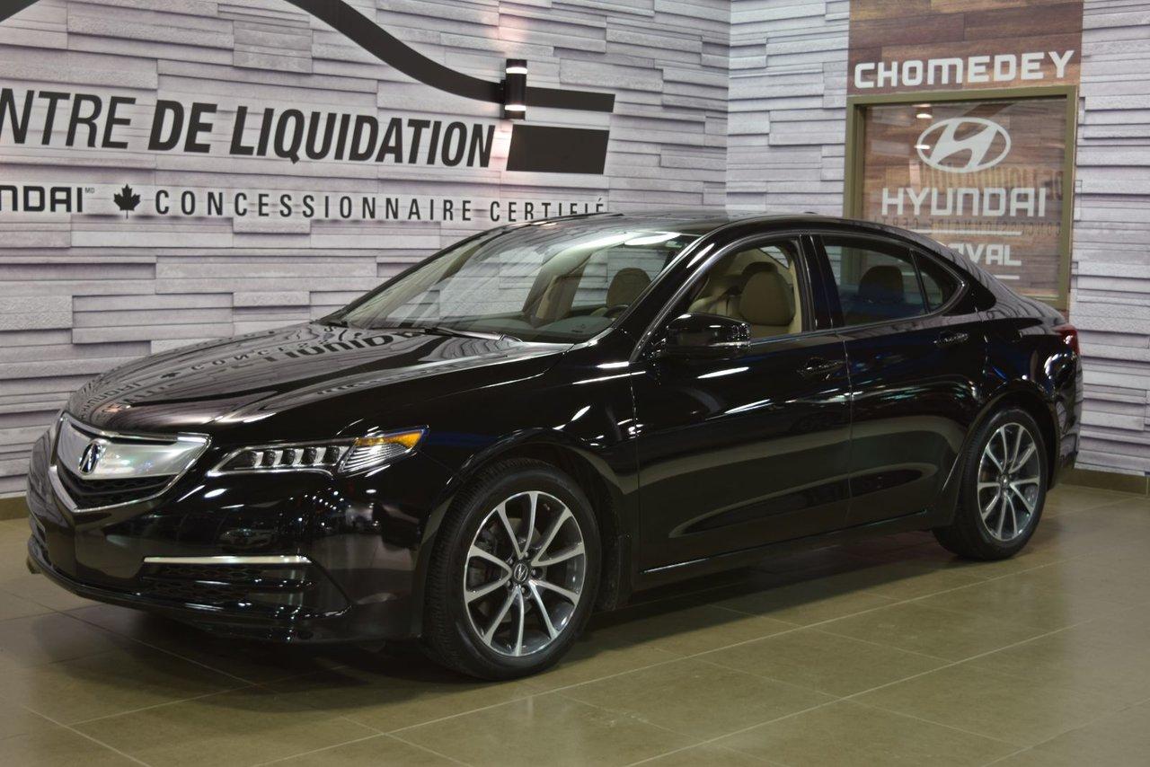 2015 Acura  TLX ELITE+AWD+GPS+CUIR+TOIT OUVRANT