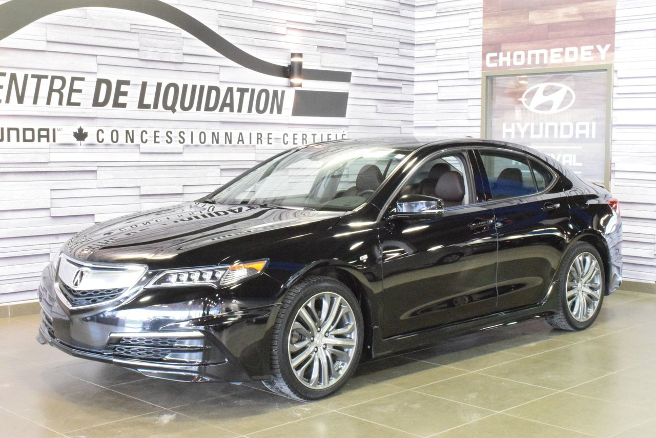 2016 Acura  TLX TECH+A SPEC+AWD+KIT LUNCH+MAGS LUNCH