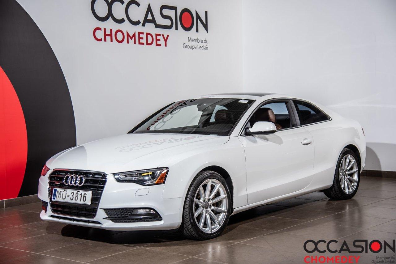 Audi A5 2014 PROGRESSIV QUATTRO+NAVI+CUIR+TOIT OUVRANT