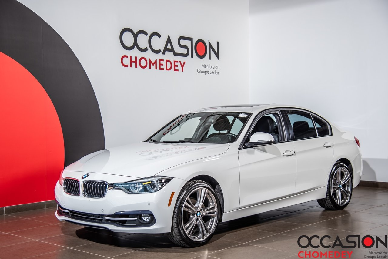 BMW Série 3 2017 330i xDrive+NAVI+CUIR CHAUFFANT+TOIT OUVRANT+