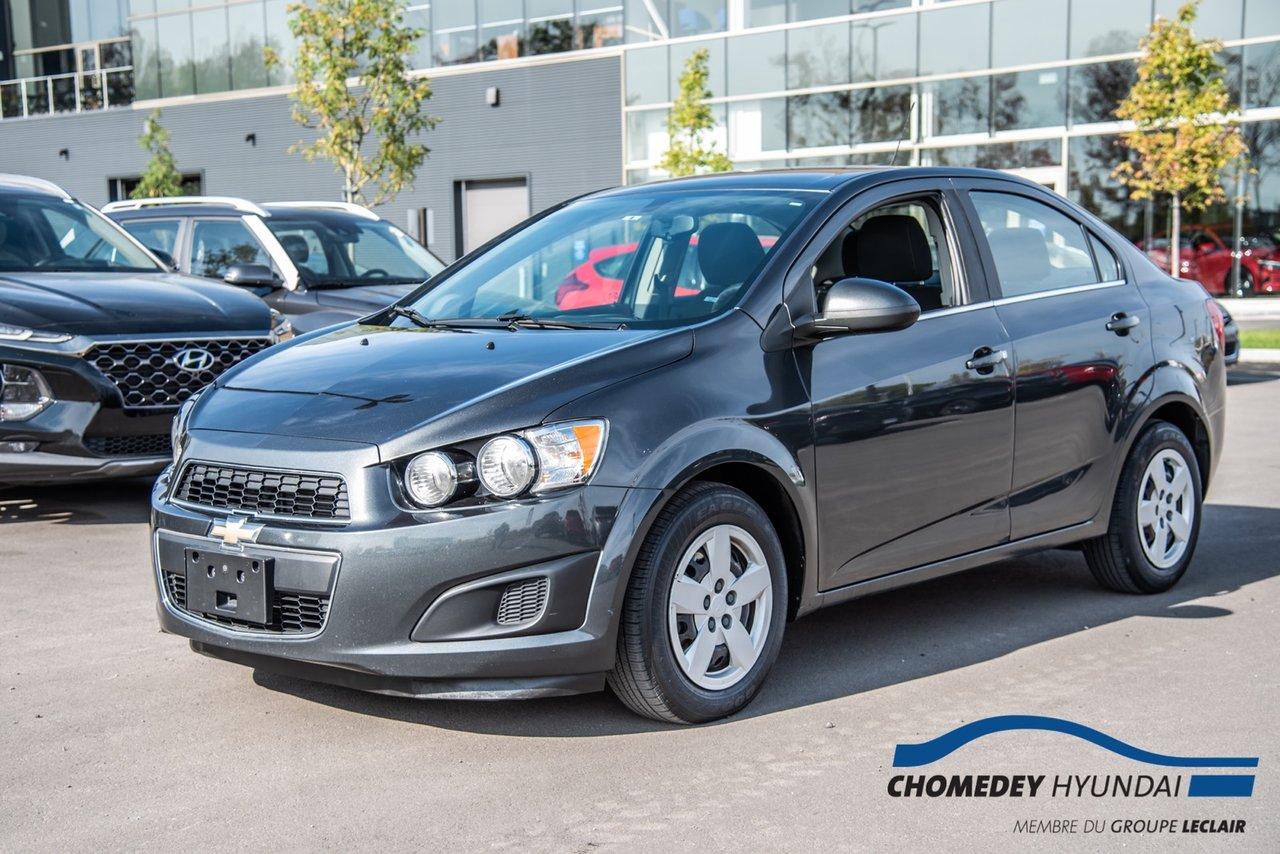 Chevrolet Sonic 2016 LT+CAMERA DE RECUL+BLUETOOTH+CRUISE CONTROL