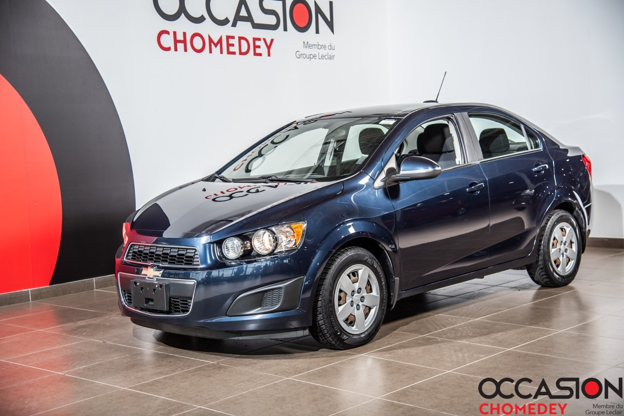 Chevrolet Sonic 2016 LT+CAMERA DE RECUL+SIEGES CHAUFFANTS+BLUETHOO