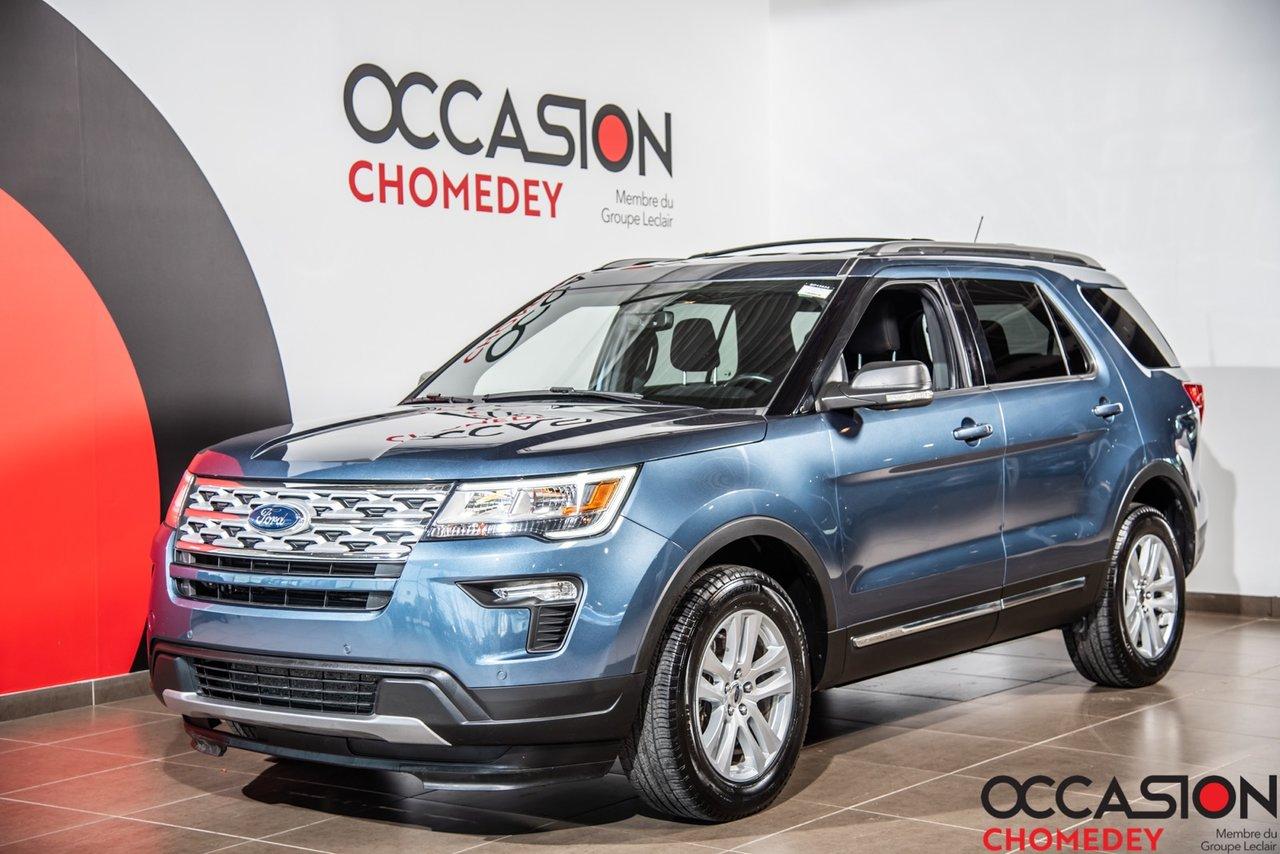 Ford Explorer 2019 XLT 4WD+SIEGES CHAUFFANTS+CAM/RECUL+APPLE CAR