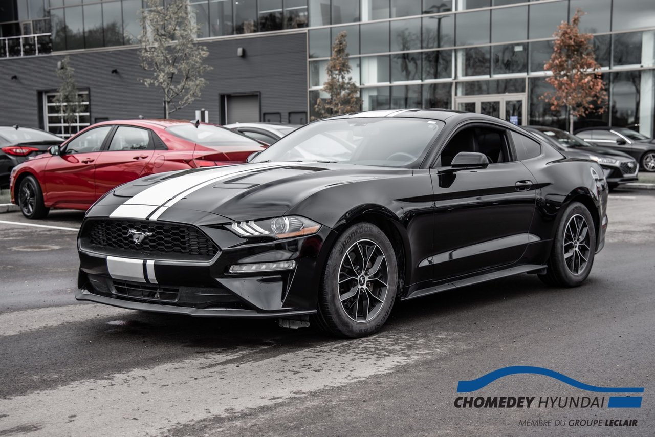 Ford Mustang 2018 ECOBOOST+CAM DE RECUL+BLUETOOTH+AUTOMATIQUE
