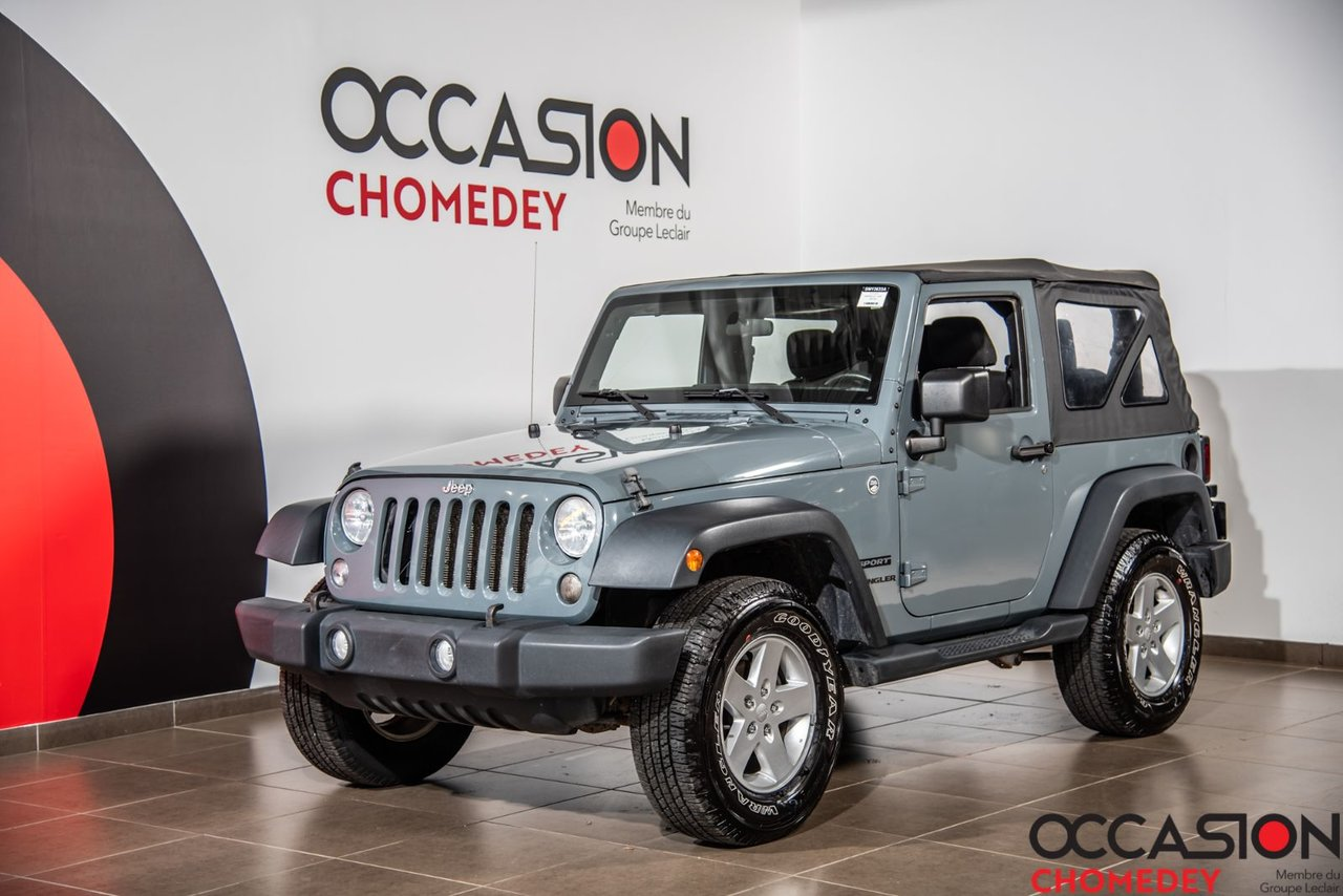 Jeep Wrangler 2015 SPORT 4X4+CRUISE CONTROL+MAGS