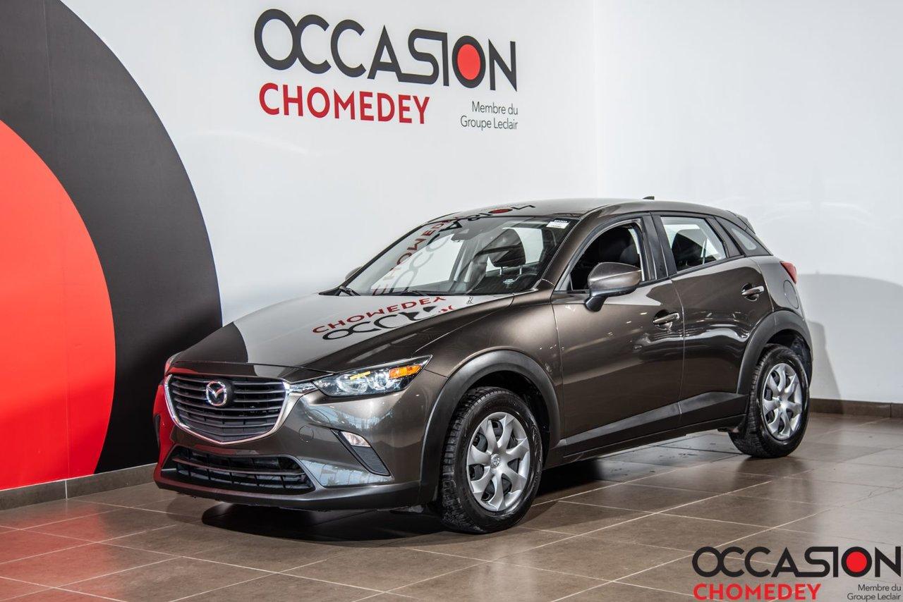 2018 Mazda CX-3 GX AWD+CAMERA DE RECUL+BLUETHOOTH+CRUISE CONT