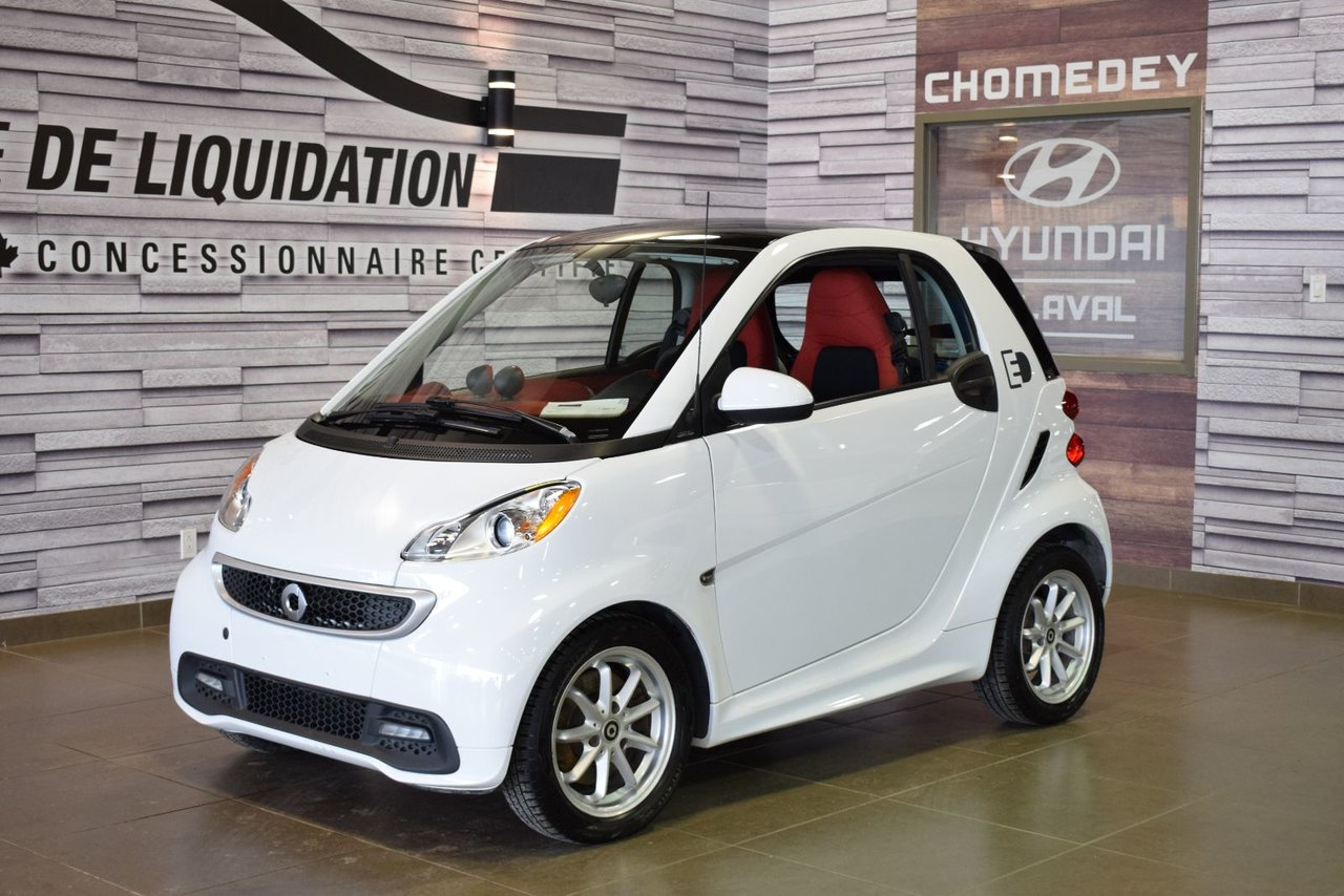 2014 Smart  Fortwo electric drive Passion TOIT+MAGS
