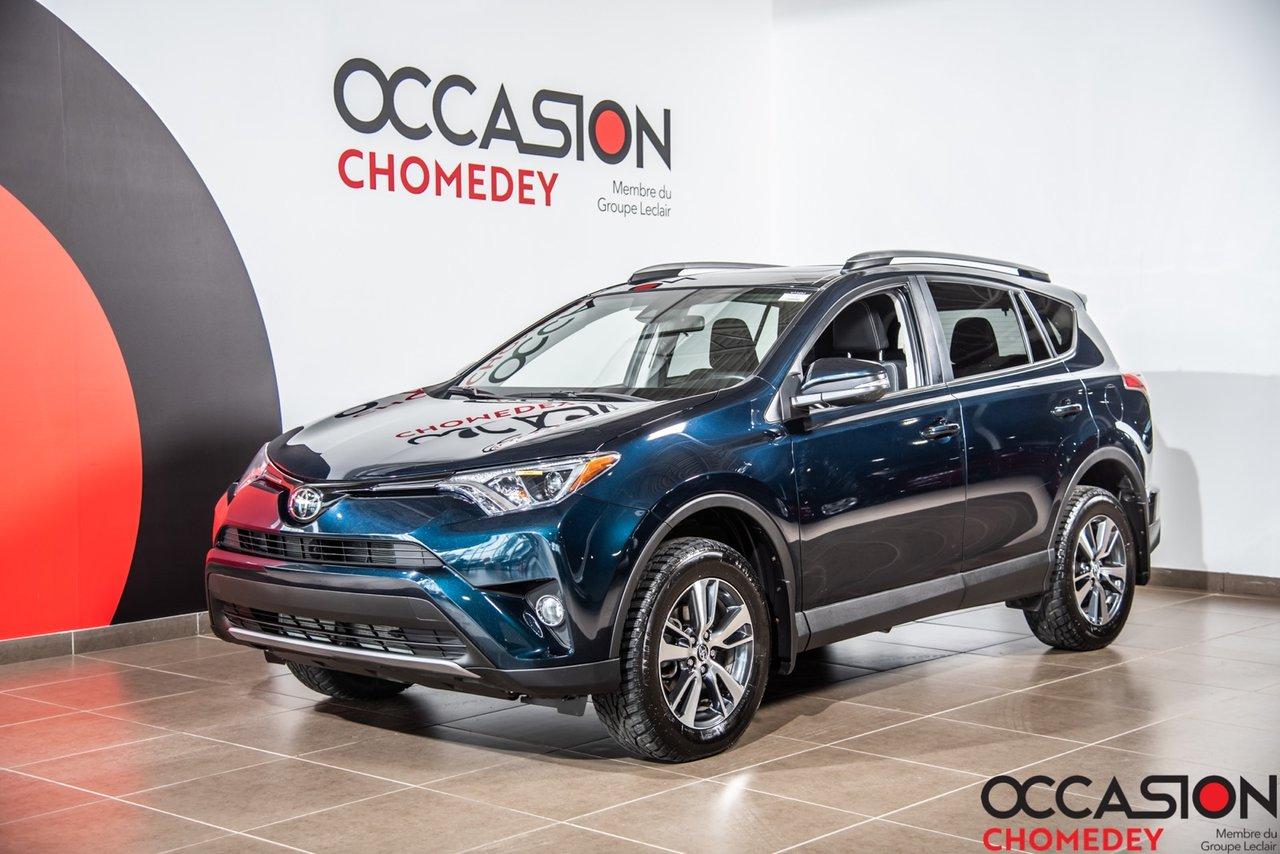 Toyota RAV4 2018 XLE AWD+VOLANT/SIEGES CHAUFFANTS+CAMERA DE RE