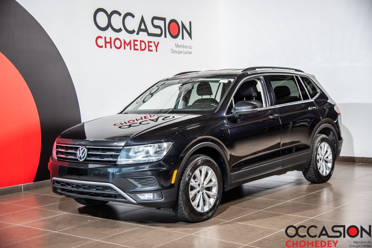 Volkswagen Tiguan 2018 Trendline 4MOTION+SIEGES CHAUFFANTS+APPLE CAR
