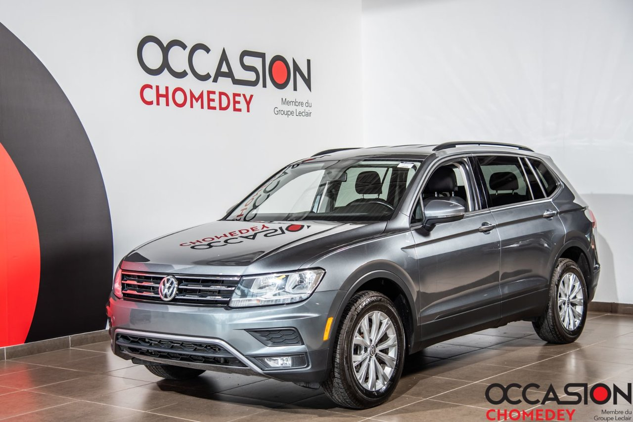 Volkswagen Tiguan 2018 Trendline+APPLE CARPLAY+SIEGES CHAUFFANTS+CAM