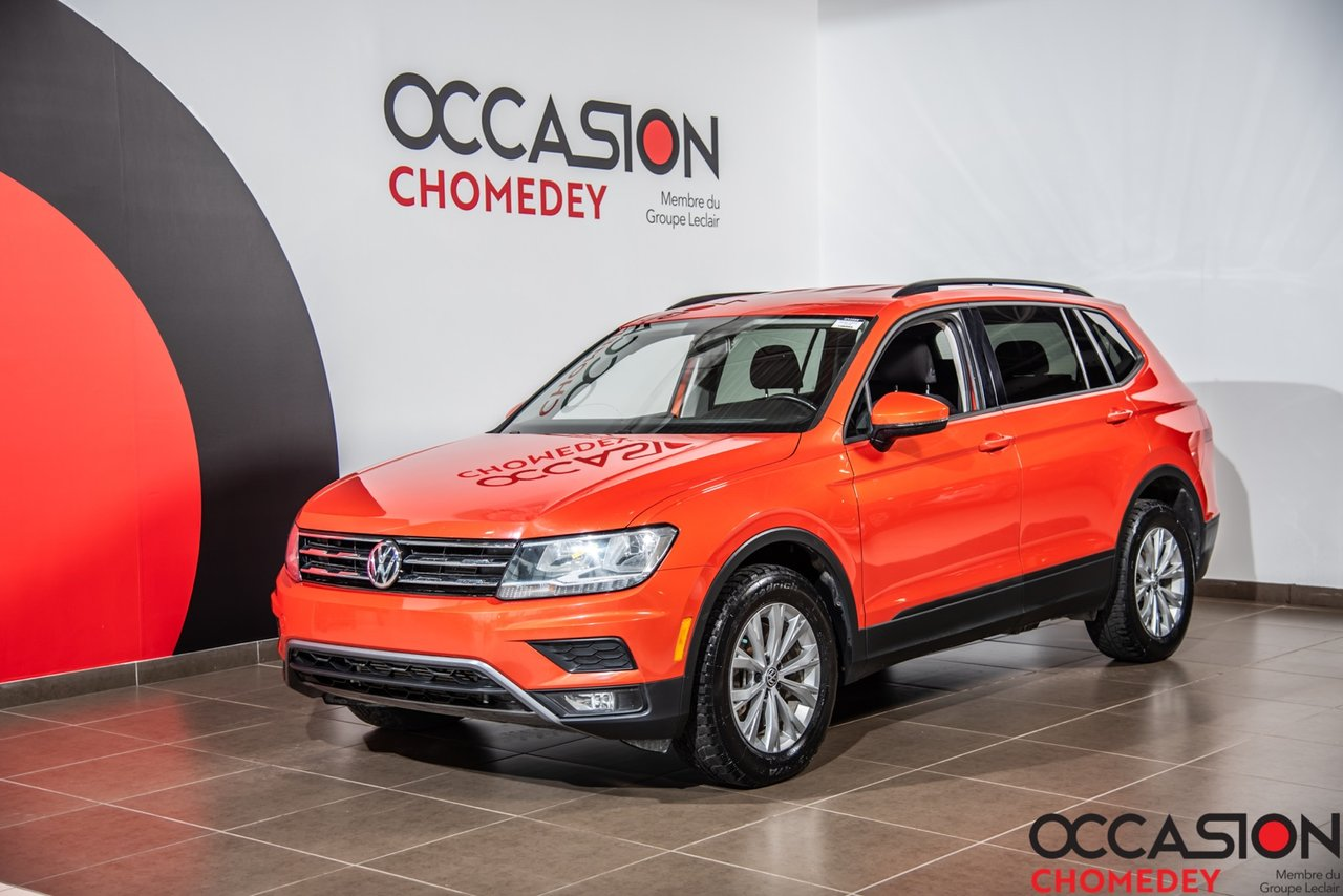 Volkswagen Tiguan 2018 Trendline 4MOTION+APPLE CARPLAY+CAM/RECUL