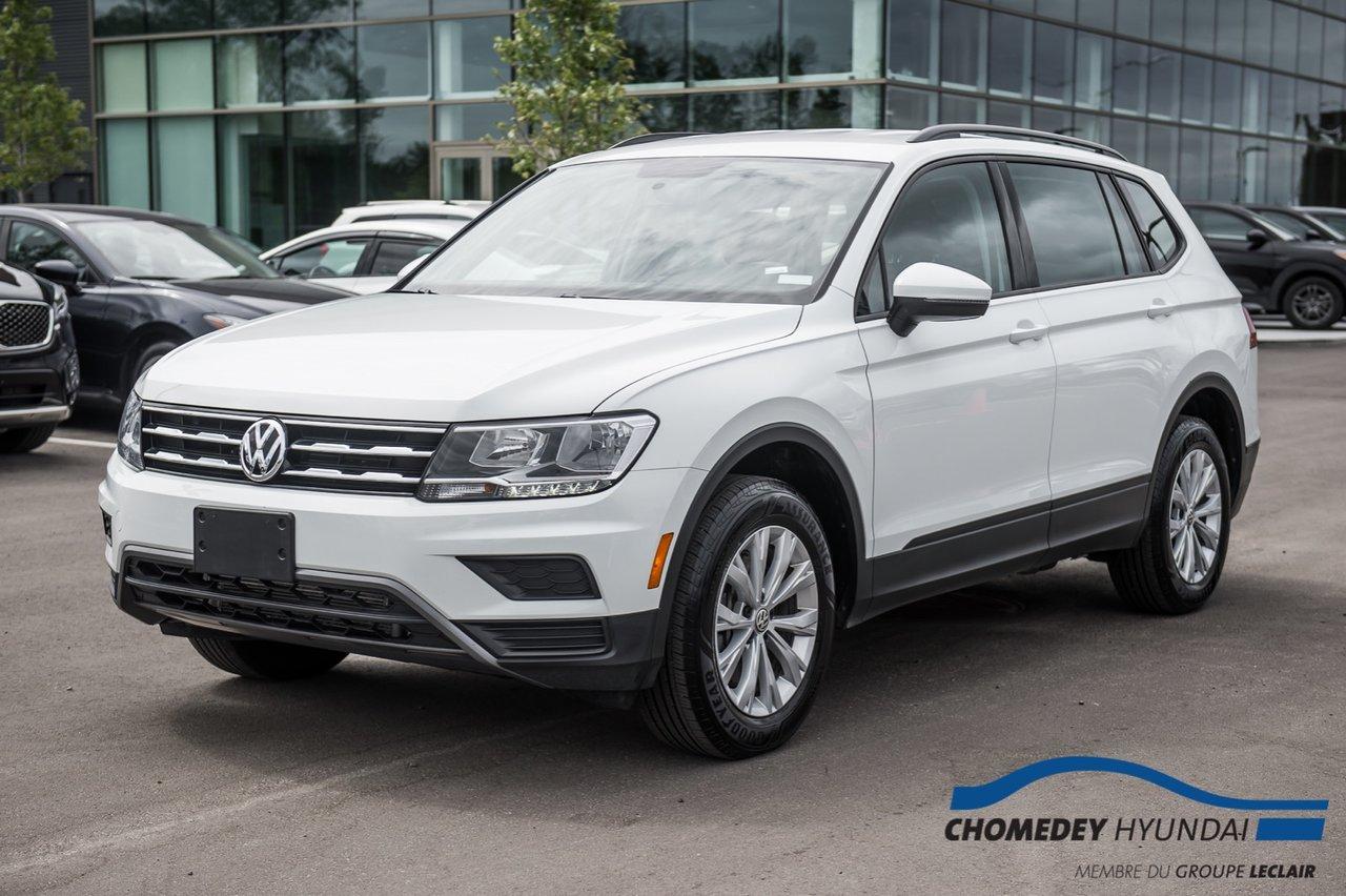 Volkswagen Tiguan 2020 TRENDLINE + CUIR + SIEGES CHAUFFANTS +BLUETOO