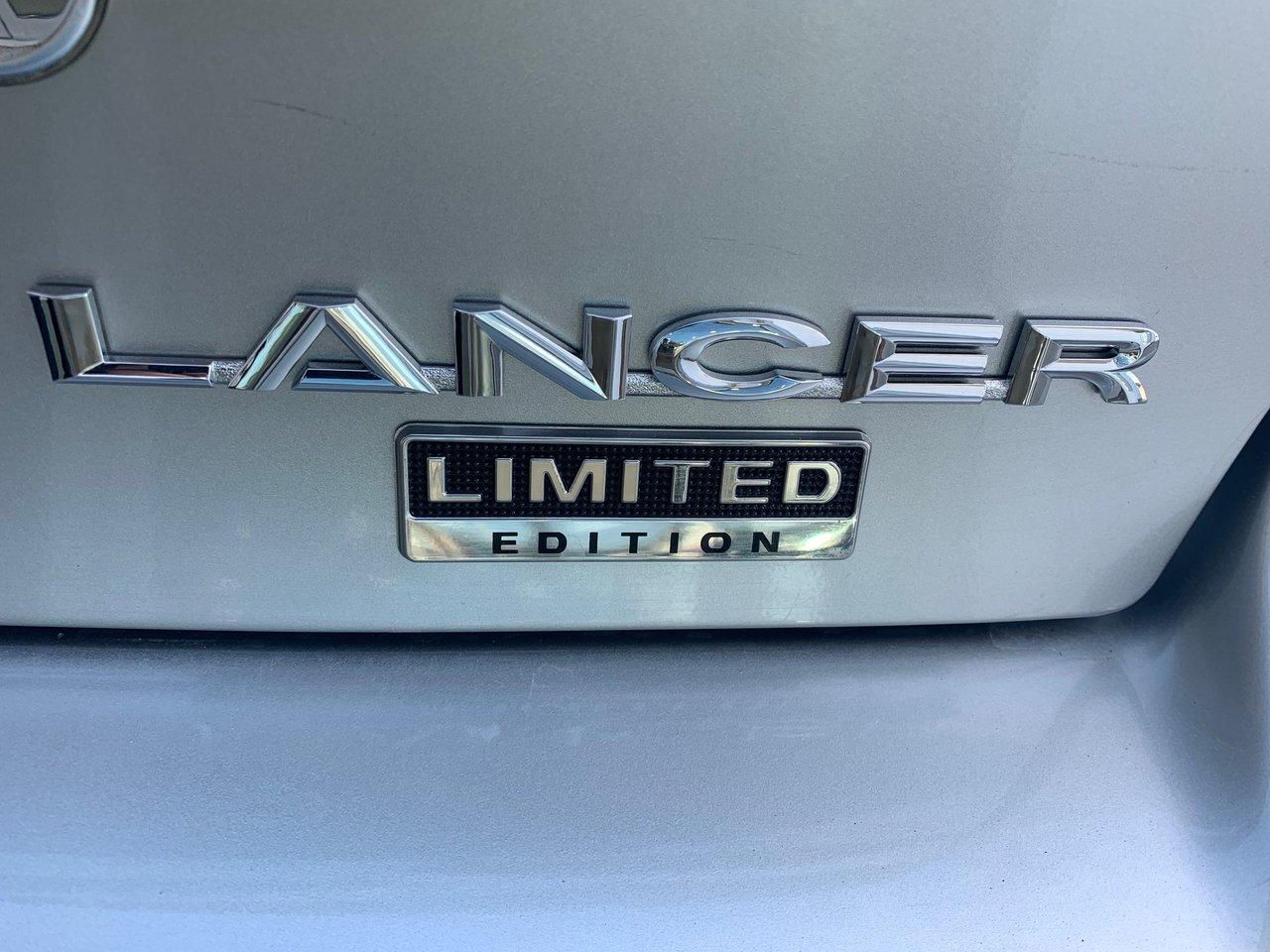 2017 Mitsubishi Lancer LIMITED