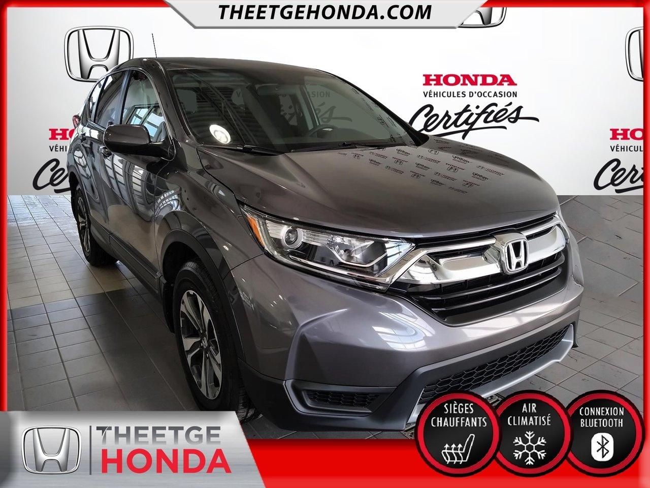 Honda CR-V 2018 LX 2WD*GARANTIE PROLONGEE GLOBALE*AUTOMATIQUE