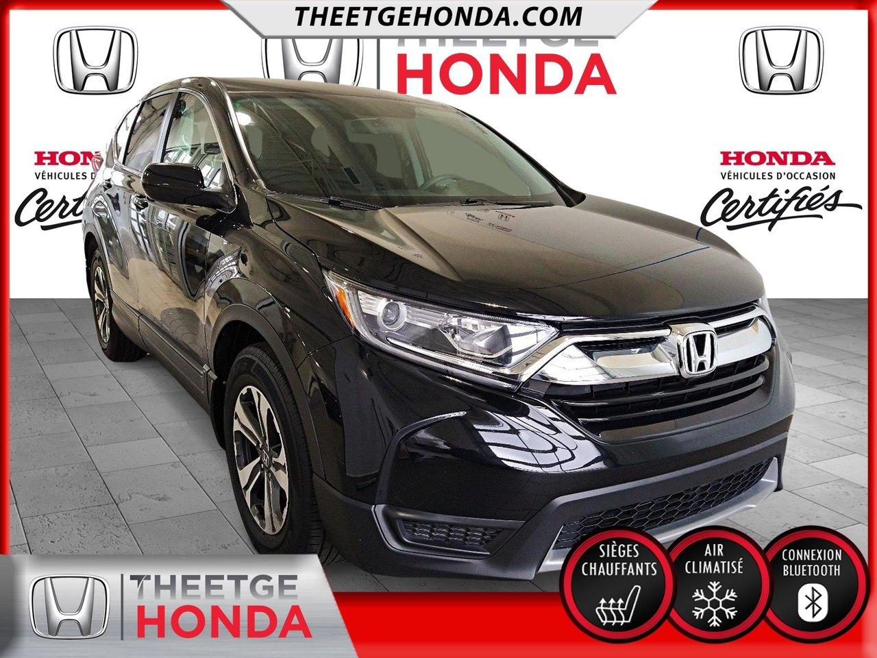 Honda CR-V 2019 LX 2WD *GARANTIE PROLONGÉE GLOBALE*