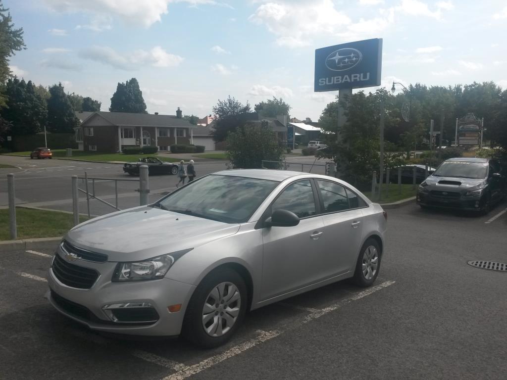 2015 Chevrolet  Cruze 2LS BLUETOOTH A/C AUTOMATIQUE