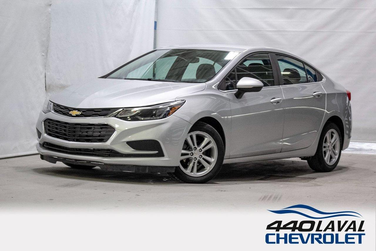 Chevrolet Cruze 2018 LT - DÉM A DISTANCE.CAM DE RECUL. CRUISE CONT