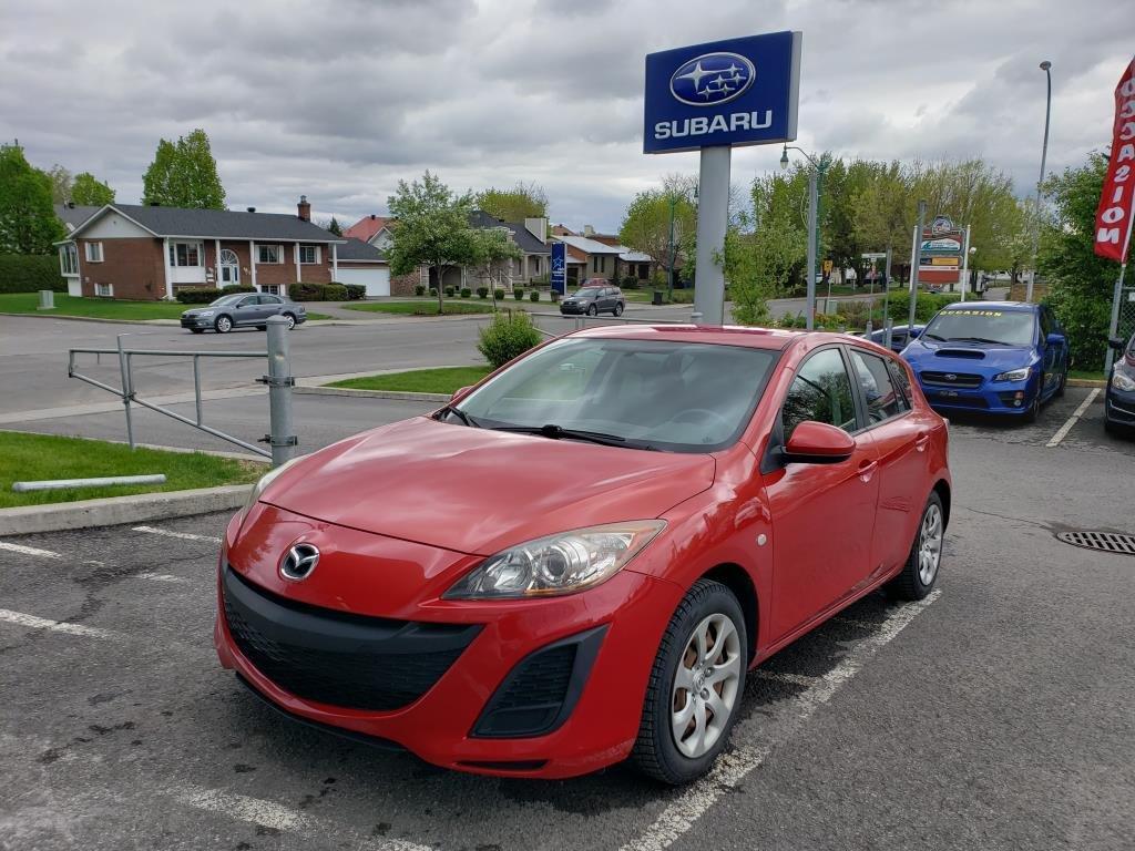 2010 Mazda  Mazda3 Sport GX HACTBACK BAS KILOMÉTRAGE
