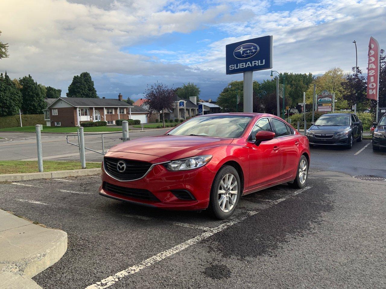 Mazda Mazda6 2016 GS,CAMÉRA DE RECUL,BANCS CHAUFFANT