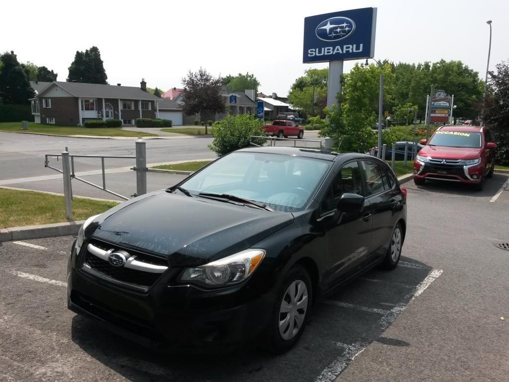 2013 Subaru  Impreza 2,0I AWD HATCHBACK BAS KILOMÉTRAGE