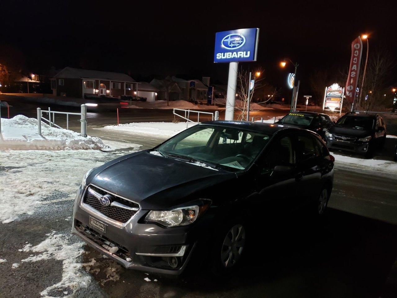 2016 Subaru  Impreza 2.0i MANUELLE BAS KILOMÉTRAGE CAMÉRA RECUL