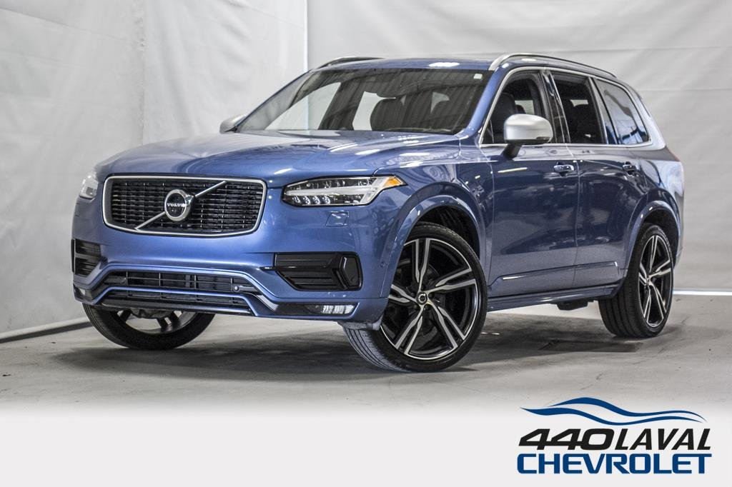 2018 Volvo  XC90 DESIGN R AWD toit ouvrant GPS cuir 7 passager