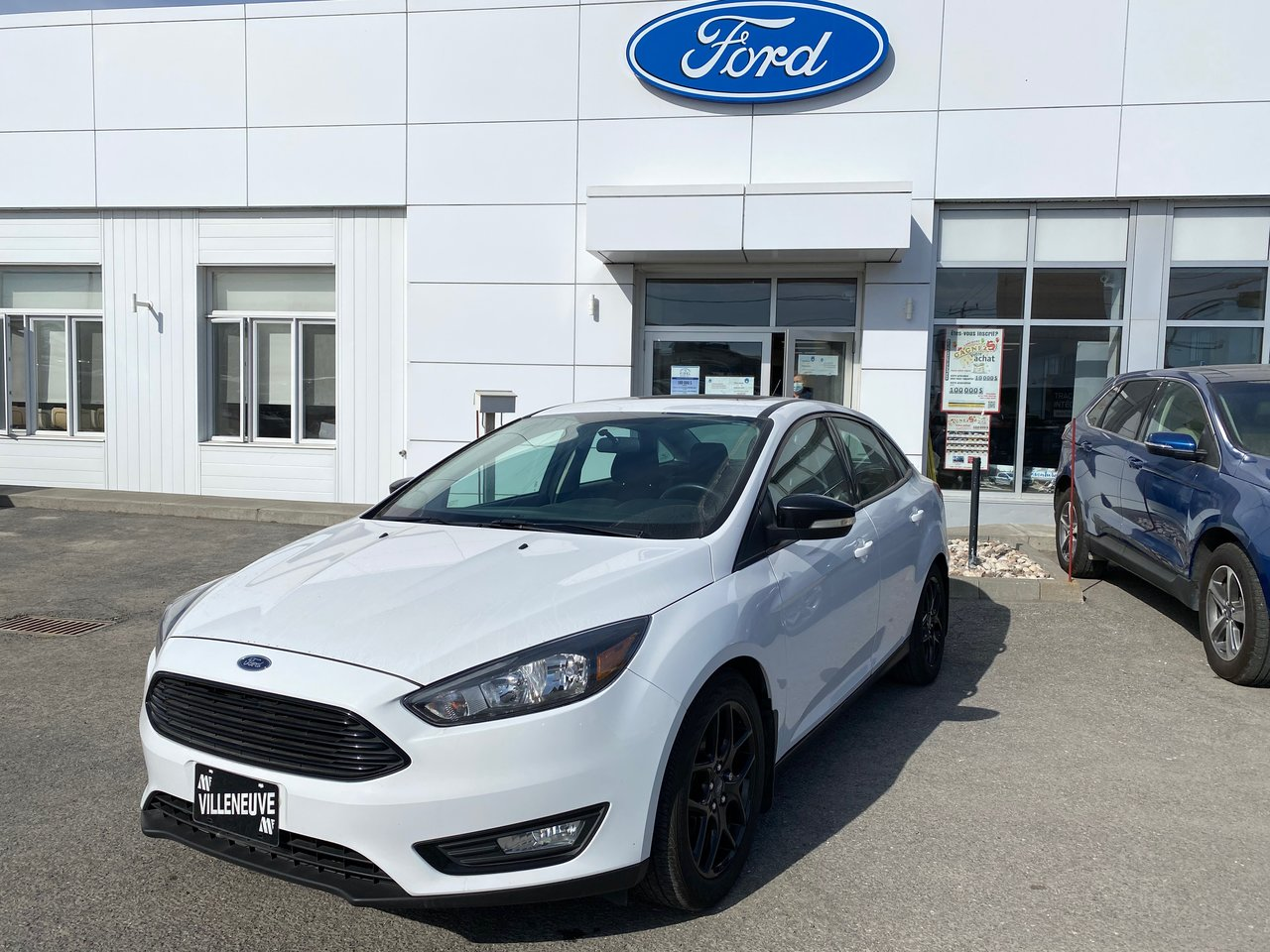 2017 Ford Focus SEL     BLACK EDITION
