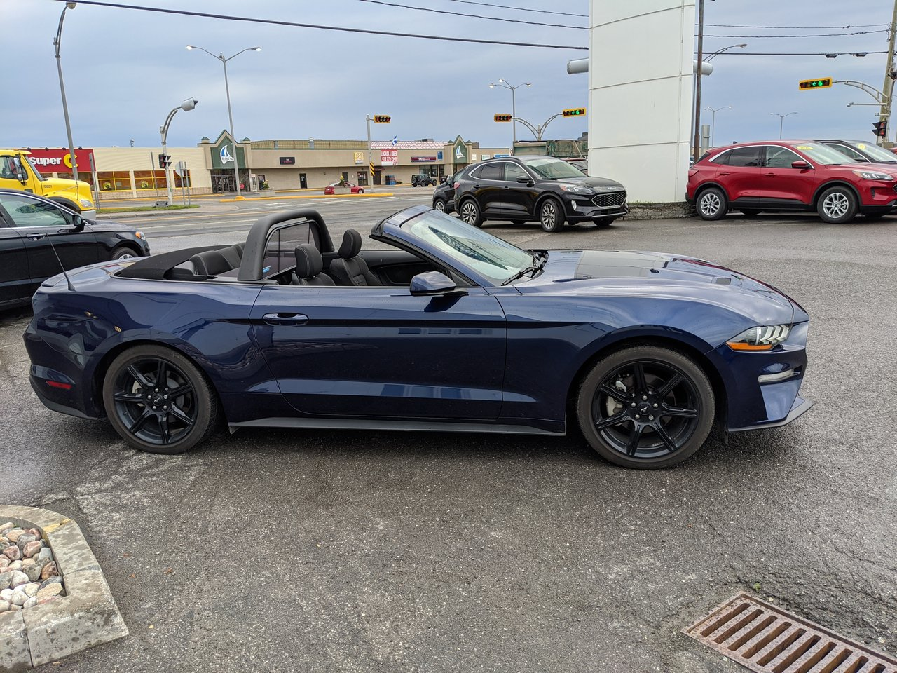 2018 Ford Mustang Ecoboost Black