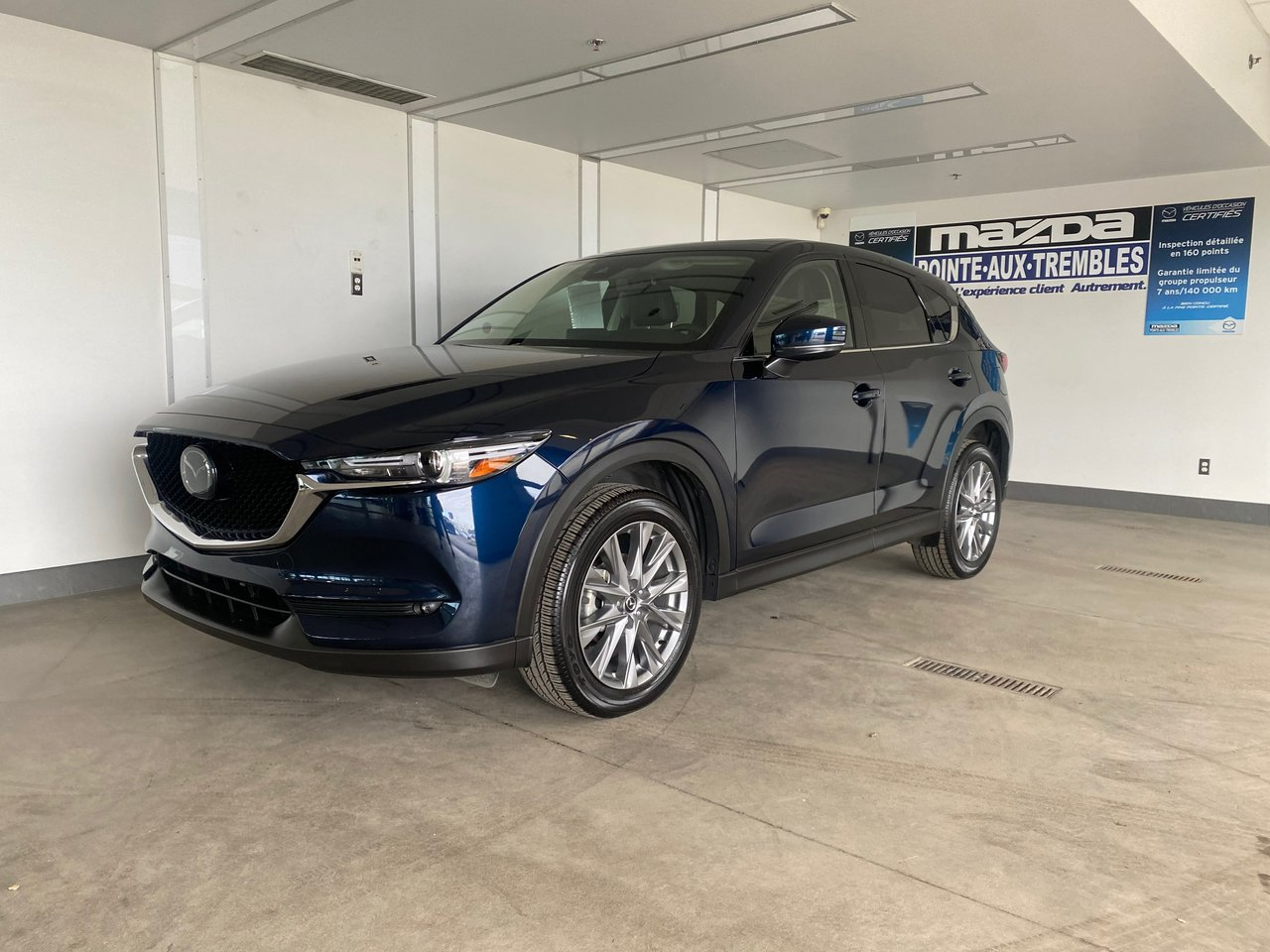 Mazda CX-5 2021 **GT**CUIR**TOIT**GPS**SIÈGES CHAUFFANT&VENTI