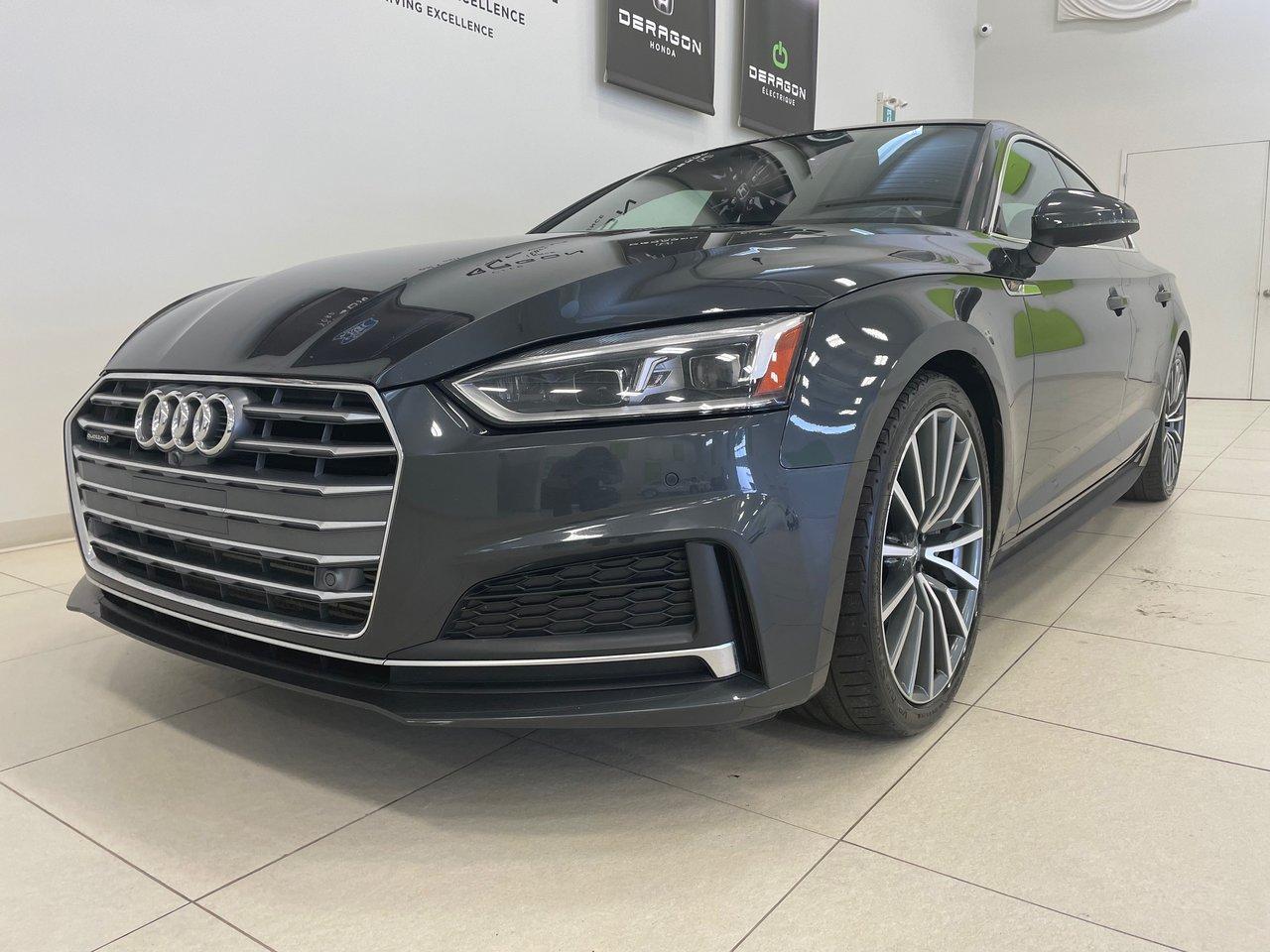 Audi A5 2018 TECHNIK S-LINE, TOIT OUVRANT, NAV, ROUES 19