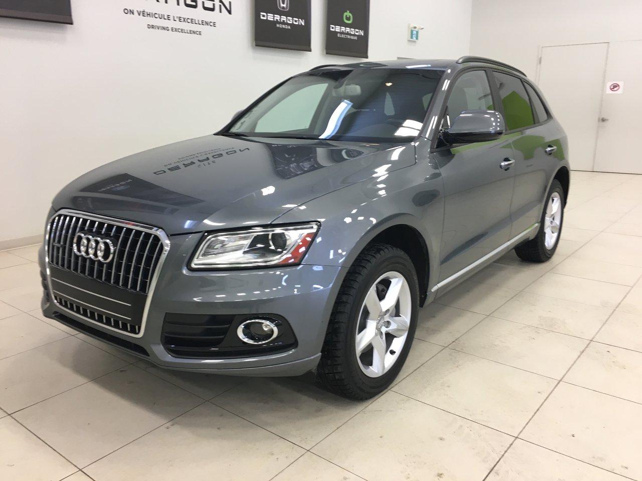 2017 Audi  Q5 KOMFORT, ROUES 18, SONAR DE RECUL, TOIT PANO