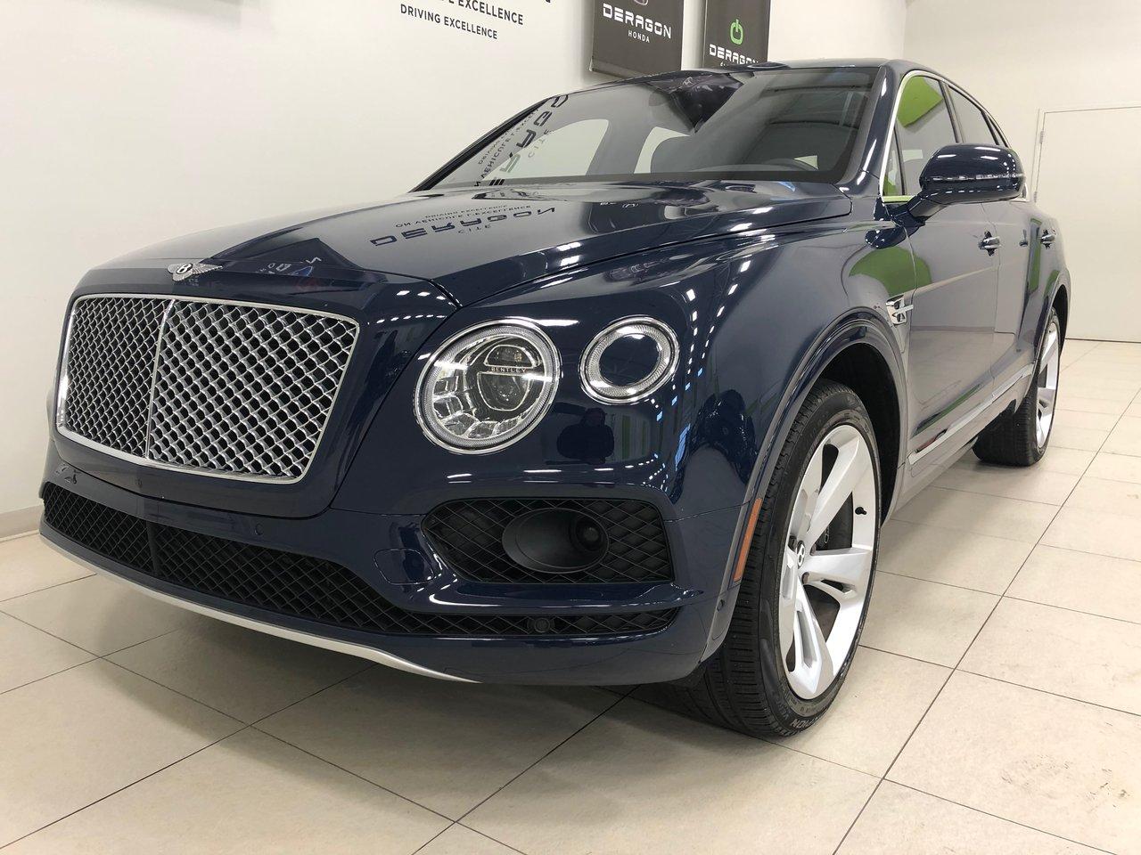 Bentley Bentayga 2018 ONYX W12 600HP, ROUES 22'' GARANTIE SUPP 13K$