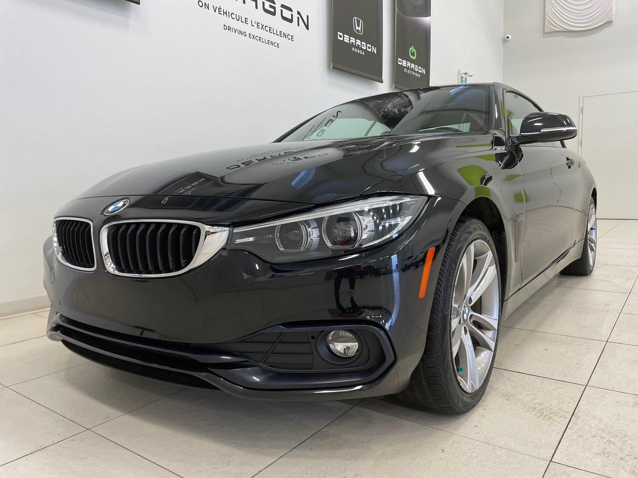 BMW Série 4 2018 430i xDrive, CONVERTIBLE,PREMIUM, NAV, ROUES