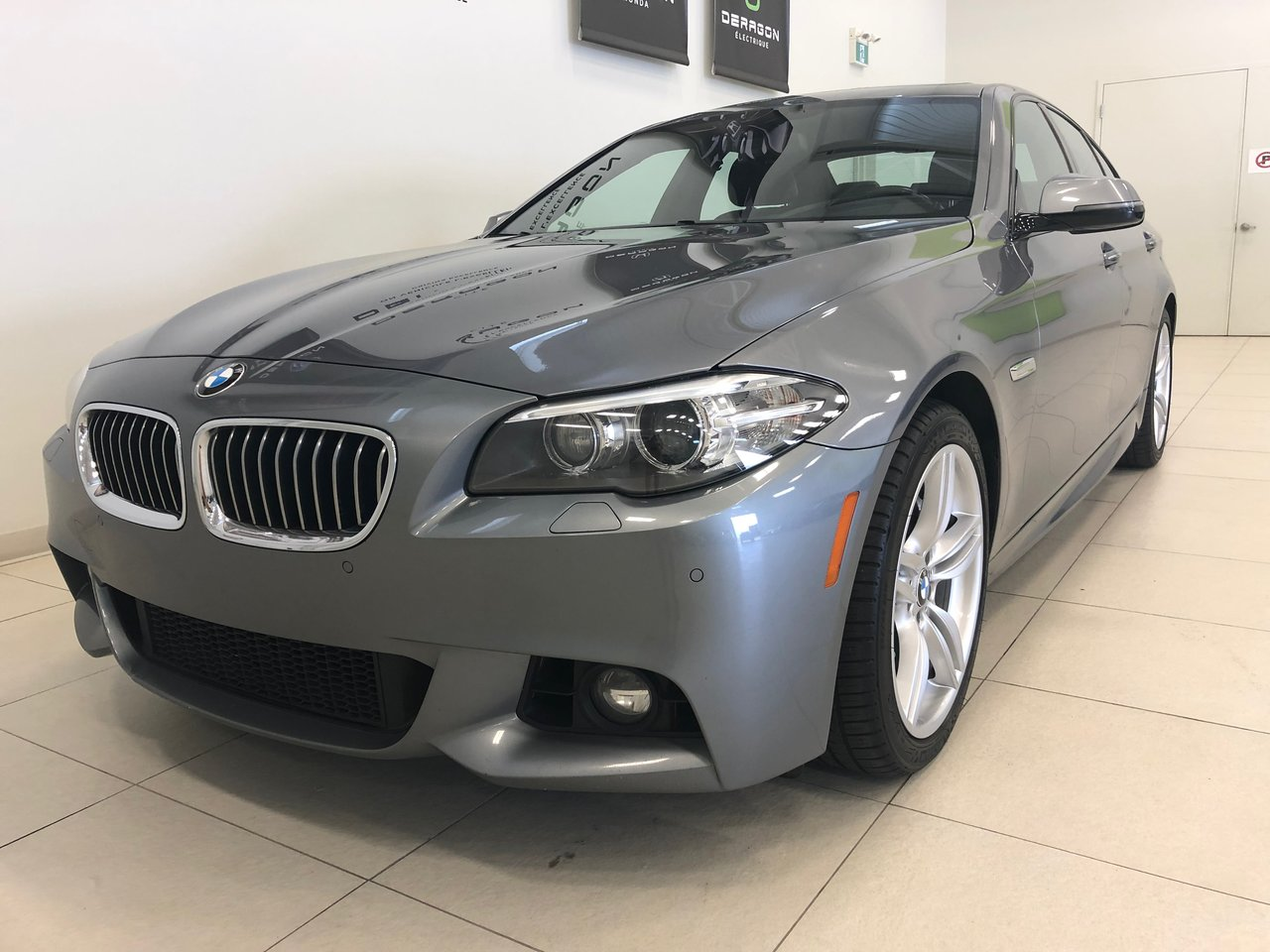 BMW Série 5 2016 535i XDrive, NAV, CAMÉRA, TOIT OUVRANT, M PAC