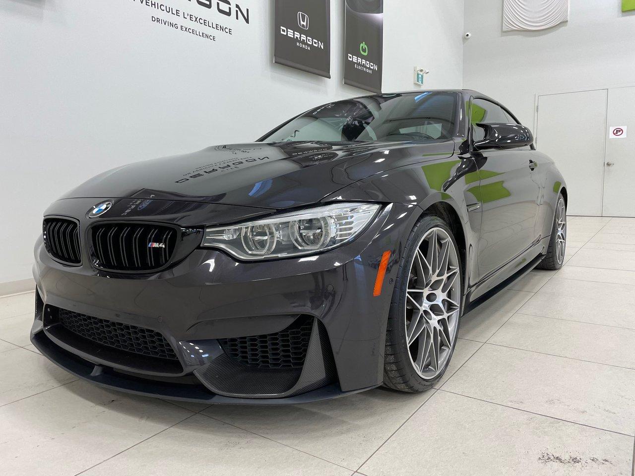 BMW Série 4 M 2017 COMPETITION, CONVERTIBLE, CARBON, EXHAUST