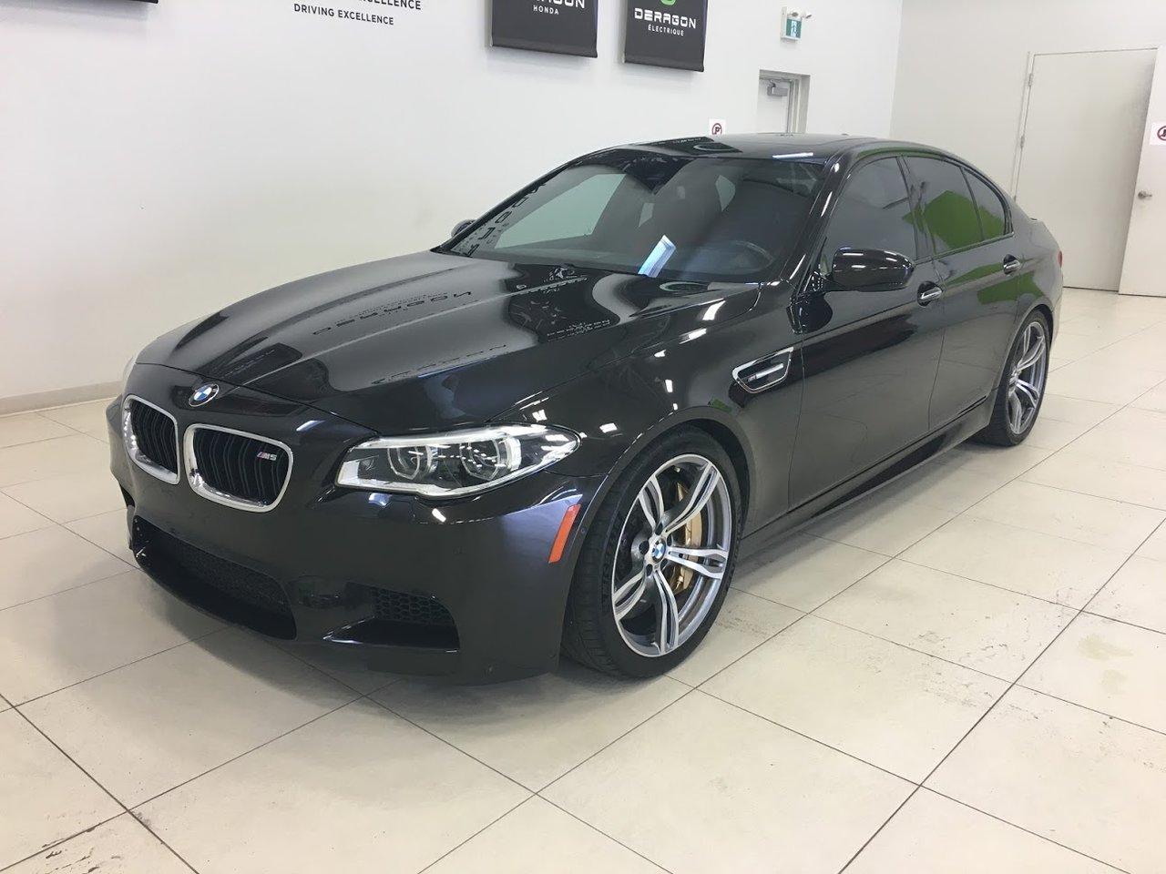 2016 BMW  M5 ULTIMATE CARBON BRAKE, 560HP, MERINO LEATHER