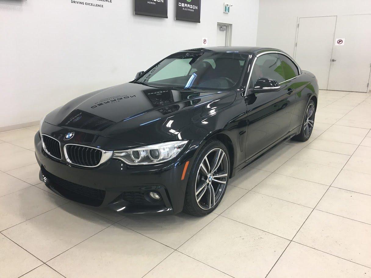 2015 BMW  Série 4 435i XDRIVE CONVERTIBLE NAVI A1 JAMAIS ACCIDE