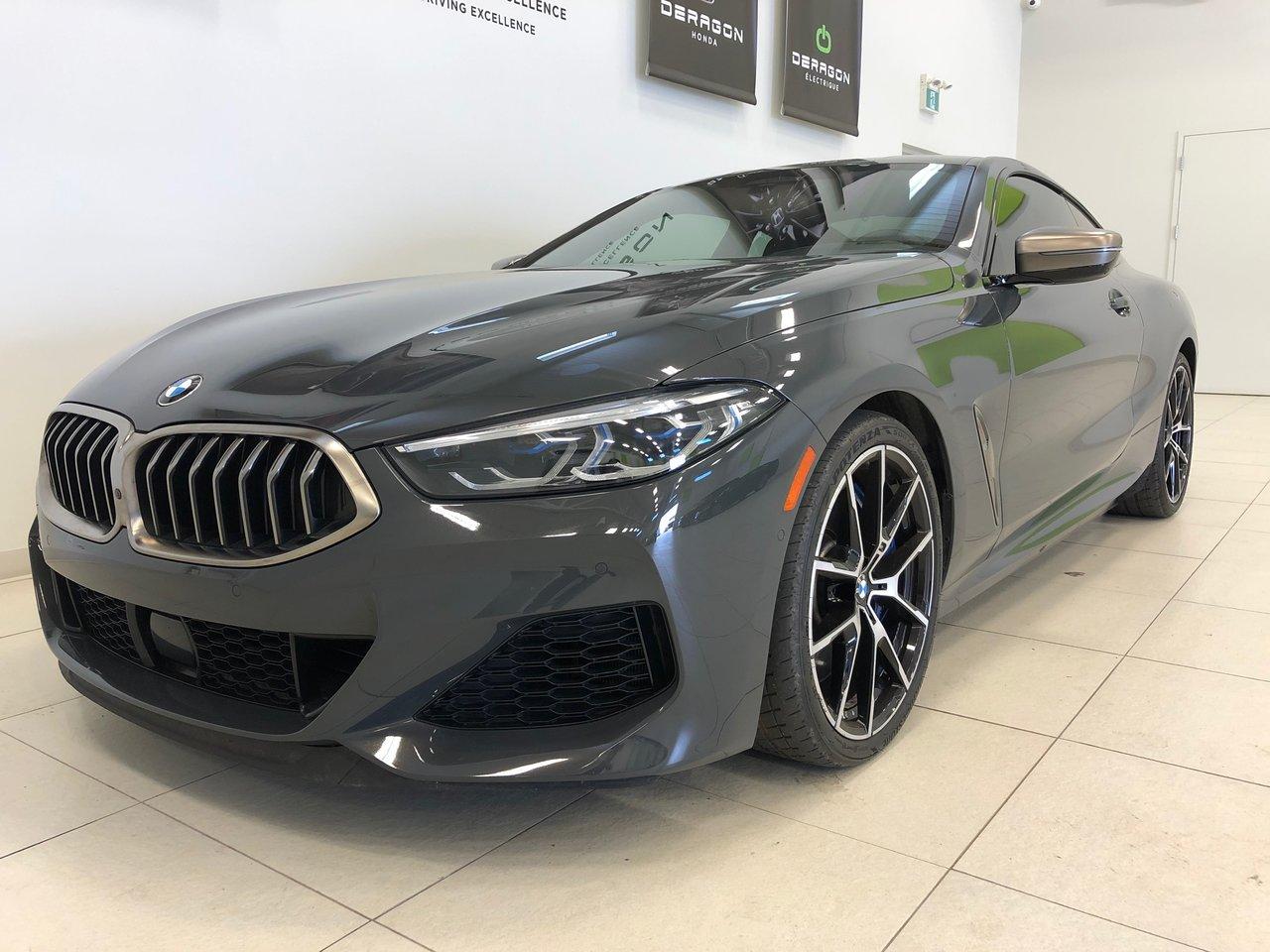 BMW Série 8 2020 M850i, EXECUTIVE PACK, CARBON FIBRE