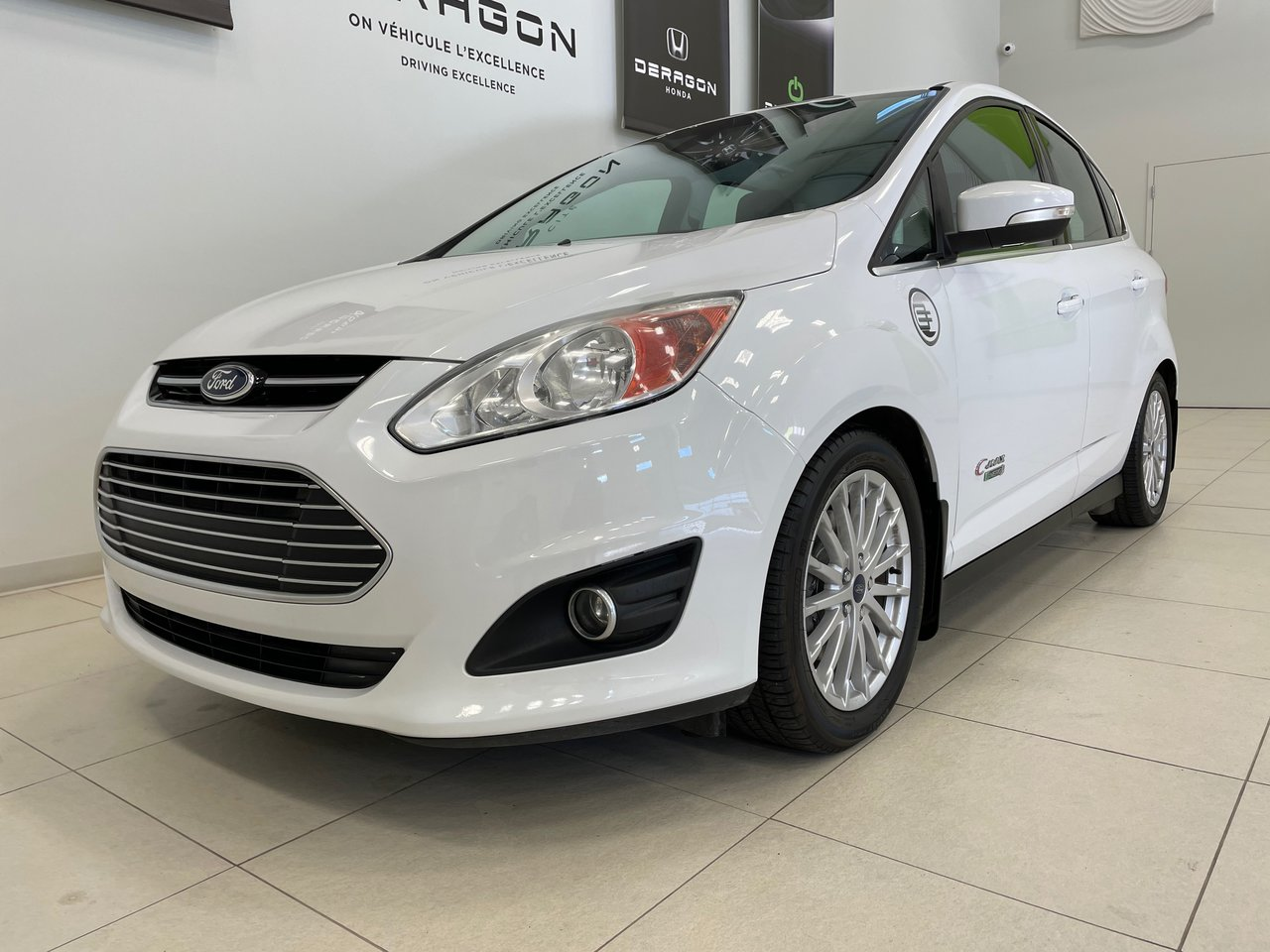 Ford C-Max 2016 SEL HYBRID PLUG-IN, CUIR, AUTOMATIQUE, ROUES