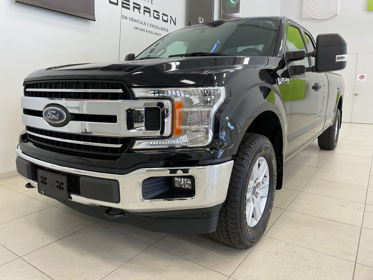 Ford F-150 2019 XLT SUPERCAB V8 5L 8 PIEDS CHARGE UTILE TOW P