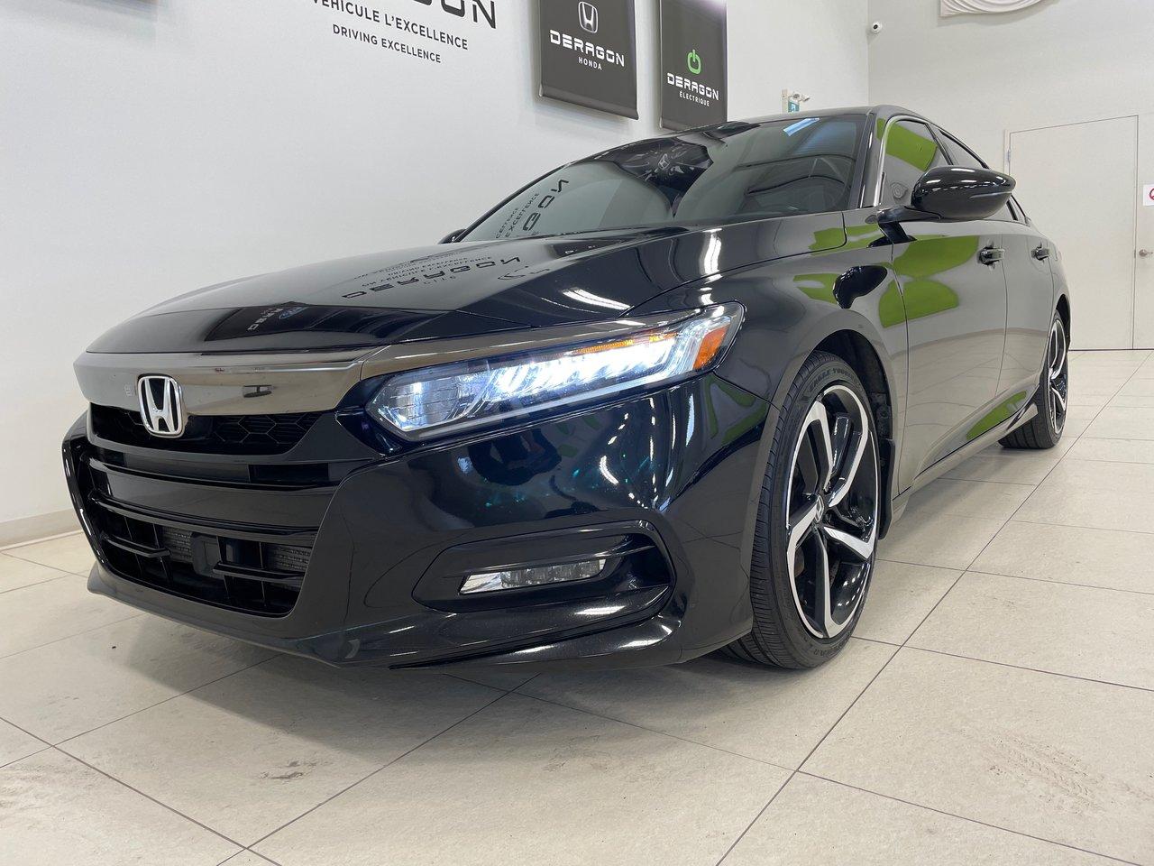 Honda Accord 2020 1.5L SPORT MANUELLE, TOIT OUVRANT, HONDA SENS