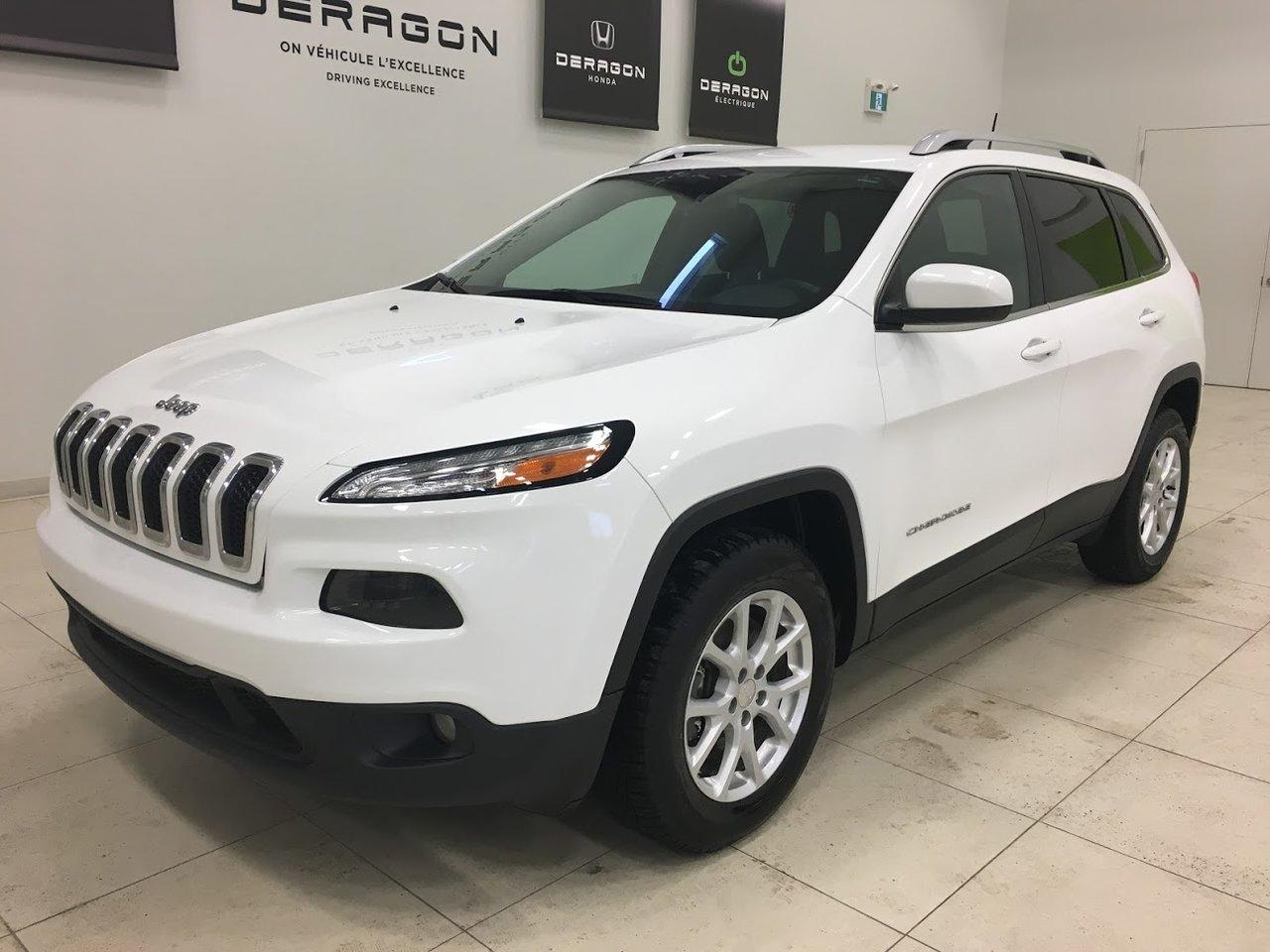 2017 Jeep  Cherokee NORTH 4X4, DÉMARREUR À DISTANCE, CAMÉRA, ROUE