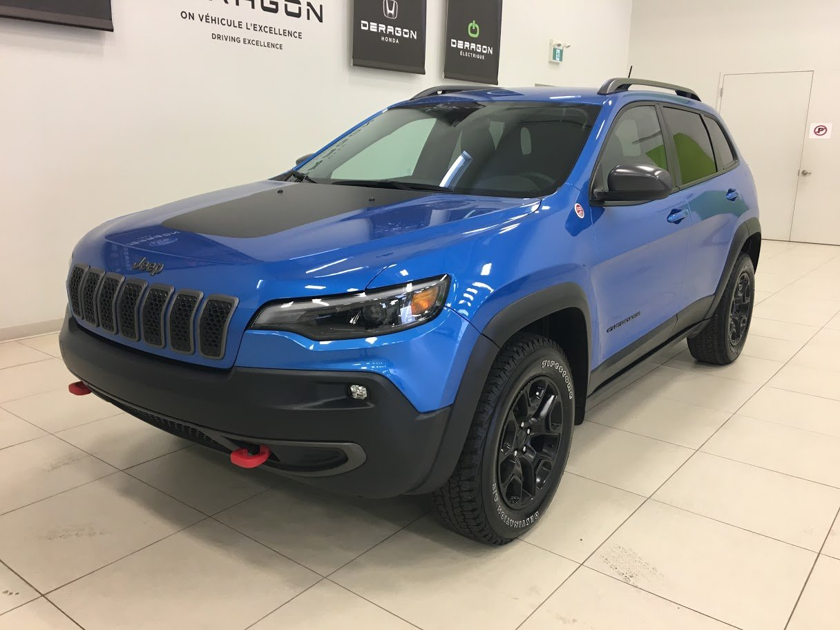 2019 Jeep  Cherokee TRAILHAWK 4X4 V6 3.2 TOWING PACK, DÉMARREUR,