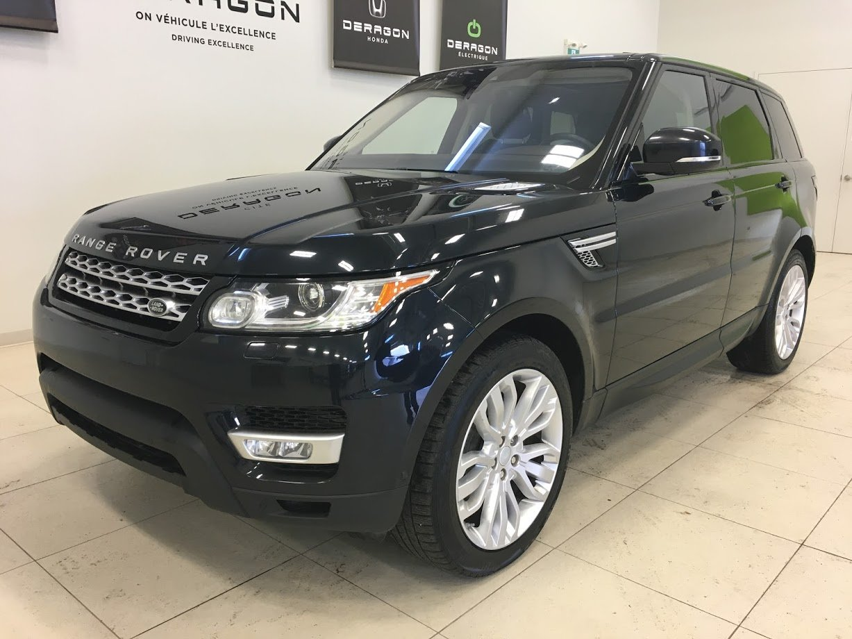 2017 Land Rover  Range Rover Sport HSE TD6 DIESEL , TOIT PANO, NAV, CAMÉRA
