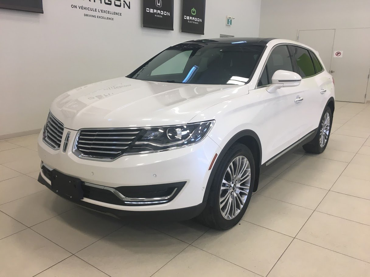 2018 Lincoln  MKX RESERVE, TECH PACK, DRIVER ASSIST, TOIT PANO