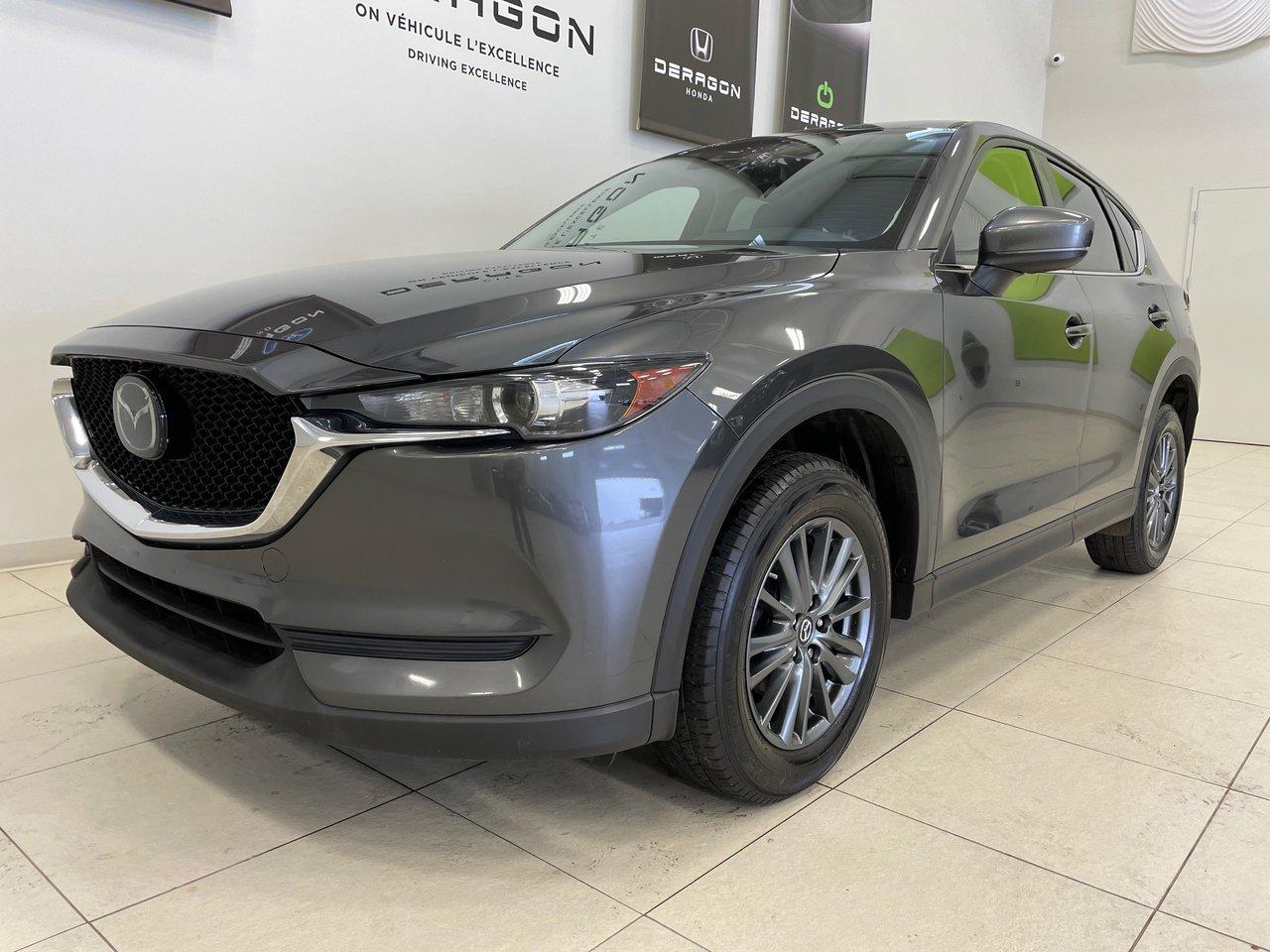 Mazda CX-5 2019 GS AWD, CUIR, ASSISTANCE CONDUITE, APPLE CARP
