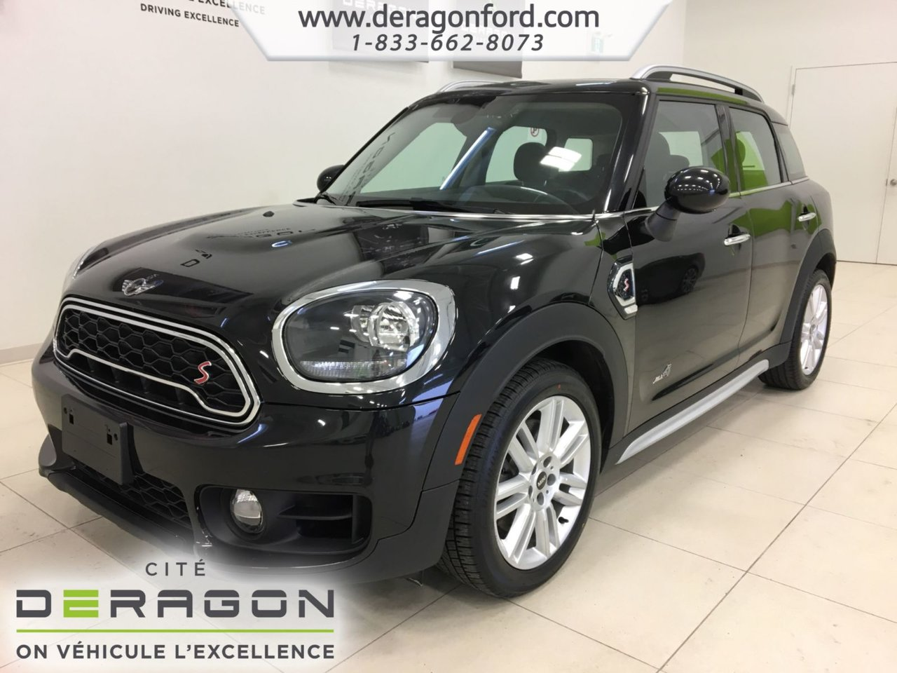 2018 Mini  Cooper COUNTRYMAN ALL4 TOIT PANO CAMERA CUIR ROUES 1