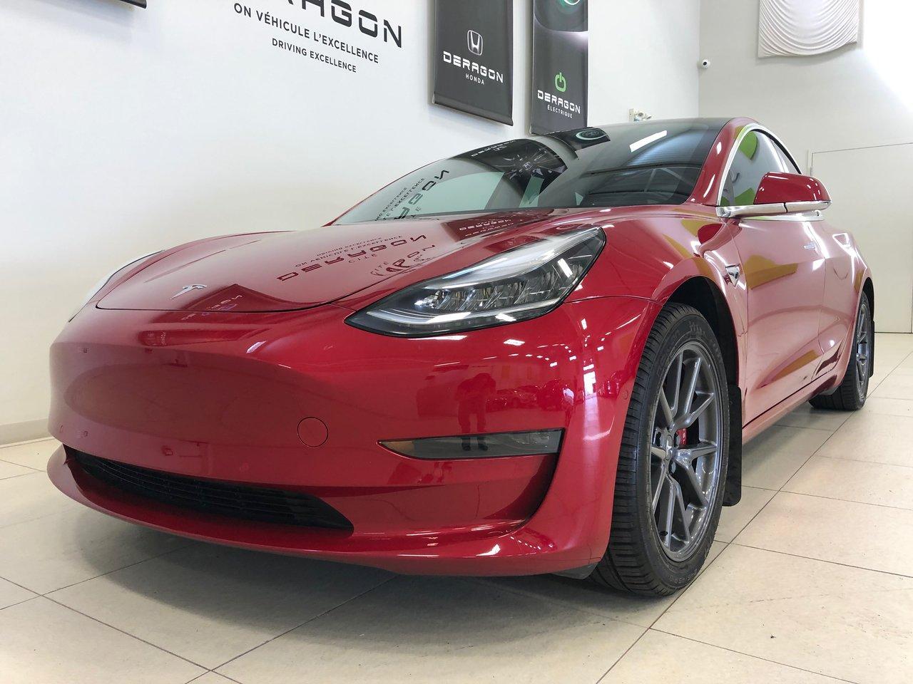 2019 Tesla Model 3 LONG RANGE AWD EDITION PERFORMANCE, TOIT EN V