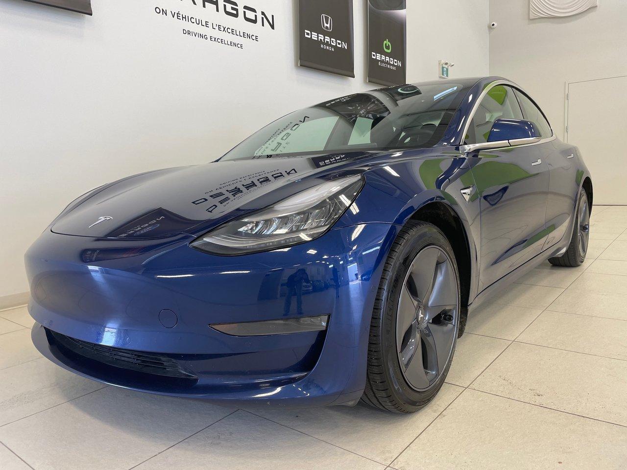 Tesla Model 3 2020 STANDARD RANGE PLUS, TOIT EN VERRE, CAMÉRA