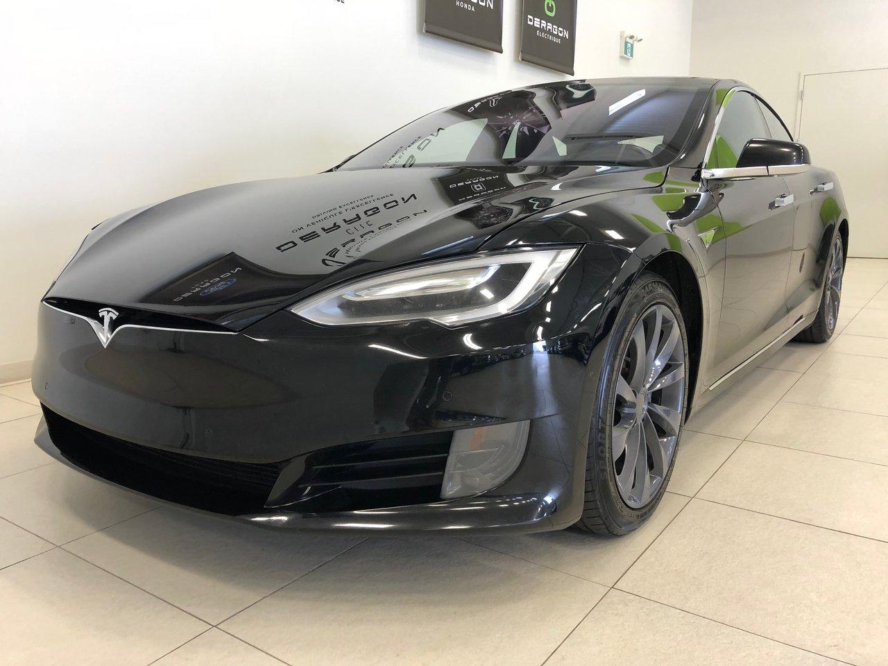 2016 Tesla Model S 75D, AWD, NAV, TOIT EN VERRE, CUIR